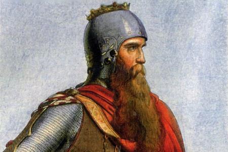 Dipinto di Federico Barbarossa